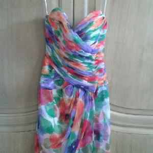 Victor Costa sweetheart dress